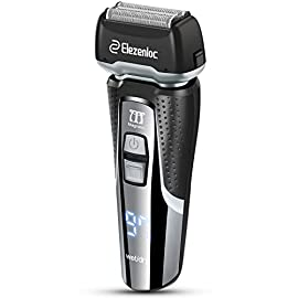 Electric Razor for Men Wet & Dry Cordless Foil Shaver Rechargeable with Precision Beard Trimmer 3D Flexible Waterproof Head - 419pxN7GCQL - Electric Razor for Men Wet & Dry Cordless Foil Shaver Rechargeable with Precision Beard Trimmer 3D Flexible Waterproof Head
