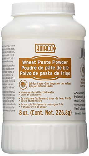 AMACO Non-Toxic Wheat Paste Powder, 8 oz