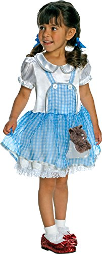 Wizard Of Oz Dorothy Child Costume Size 2T-4T Toddler (2t Dorothy Costume)