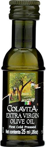 - Colavita Premium Italian Extra Virgin Olive Oil Mini Bottles, 0.85 fl. oz. (Pack of 240)