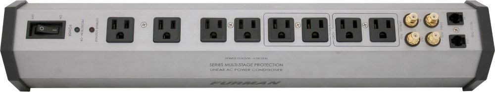 Furman Power Conditioner, White (PST-8D) (Certified Refurbished)