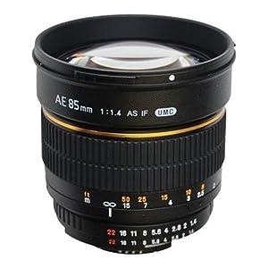 Samyang 85mm F1.4 Lens