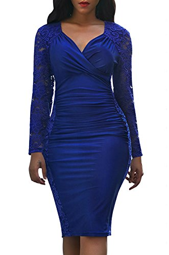 fitted panel dress - 6
