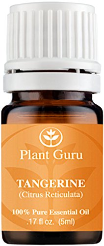 Tangerine Essential Oil. 5 ml. 100% Pure, Undiluted, Therapeutic Grade. Sample Size