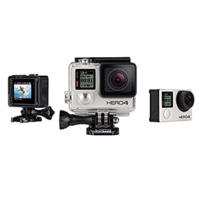 GoPro HERO4 SILVER Camera with Display