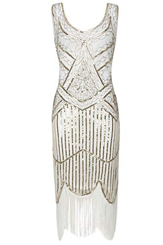 BABEYOND 1920s Flapper Dress Roaring 20s Great Gatsby