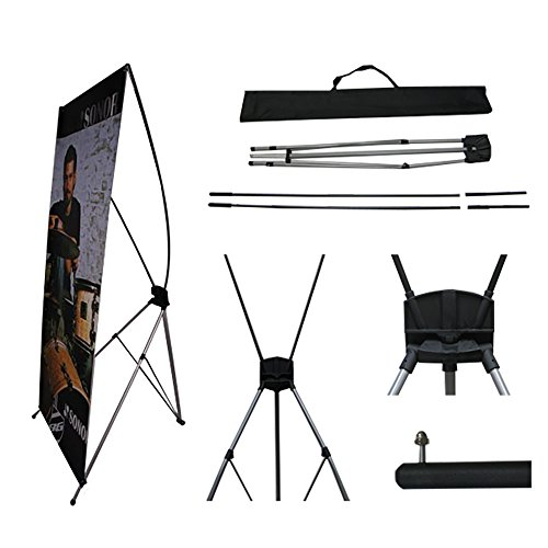 TEKTRUM Large 32 x 71 Inches Tripod X Banner Stand for sale  Delivered anywhere in Canada