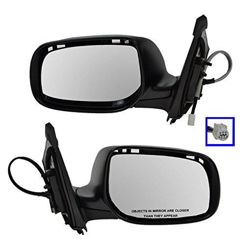Power Heated Black Side View Mirror Right RH Passenger Side for 08-13 Avenger