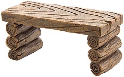 Darice - Mesa de jardín (Resina), diseño de Troncos: Amazon.es: Juguetes y juegos