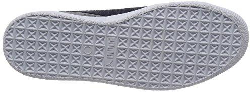 Clyde peacoat B Steel Unisex Puma amp; Gray C Camoscio Sneakers Viola Scarpe qfxWdUFTw