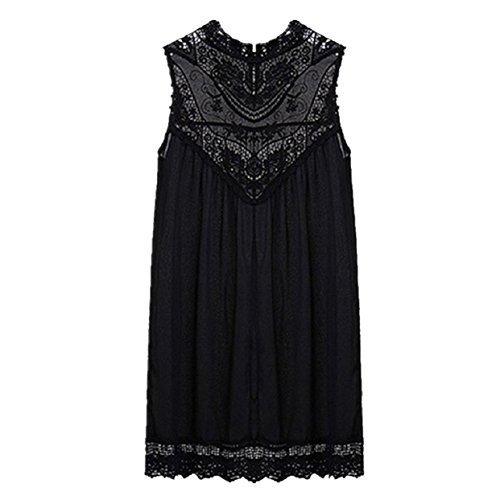 Lowpricenice Women Lace Chiffon Party Evening Summer Ladies Short Beach Dress New (XXL)