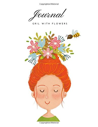 Journal Gril With Flowers ()