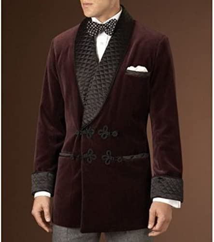 Rajgharana Exports Womens Velvet One Button Jacket Office Blazer Casual Wear