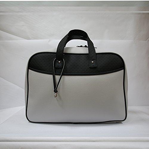 Bolso maleta maternidad Baby Star color Gris/Negro