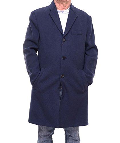Michael Kors Men's Double-Face Donegal Wool-Blend Coat Size - Michael Blue Face Kors