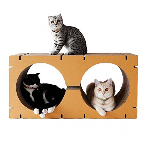 Ice Climbers Halloween Costume (Sansukjai Cat Scratching HOME Double-Circle Shape Eco Friendly 30 x 80 x 40 cm)