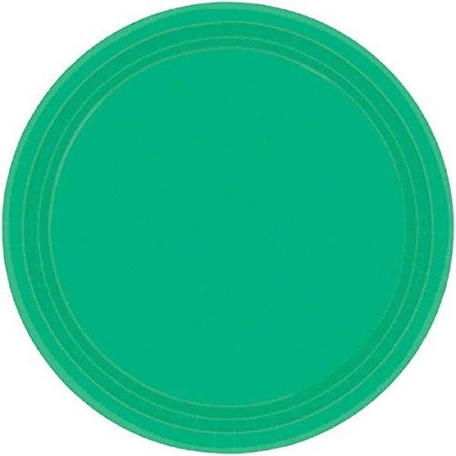 Festive Green Round Paper Plates   7
