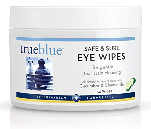 (TrueBlue Safe and Sure Eye Wipes, 50 Count)