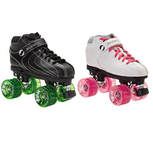 Jackson Vibe Pulse Outdoor Roller Derby Skates - Jackson Vibe with Atom Pulse Outdoor Wheels by Skate Out Loud