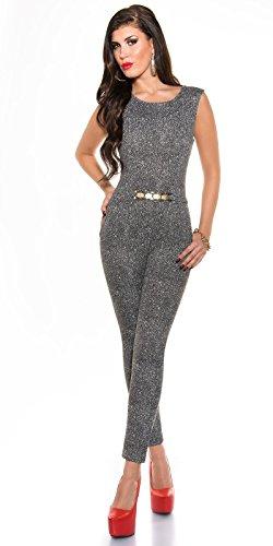 Design elegante KouCla bambino oro squinzietta - Business Jumpsuit in dimensioni diverse (V67212)