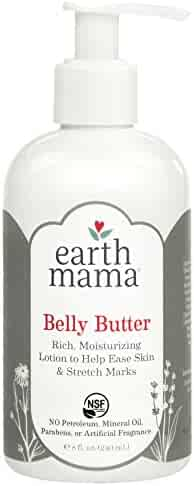 Earth Mama Belly Butter to Help Ease Skin and Stretch Marks, 8-Fluid Ounce