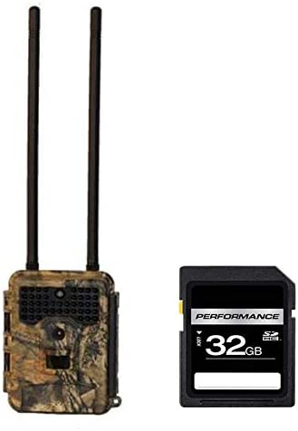 Covert Scouting Cameras E1 AT T Trail Camera 5595 with SD 32 GB Card