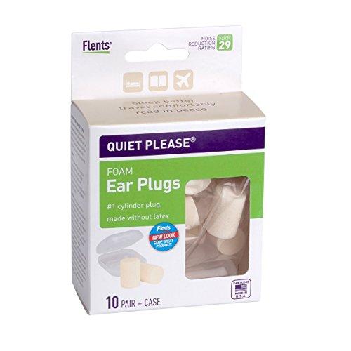- Flents Quiet Please Ear Plugs (10 Pair) NRR 29
