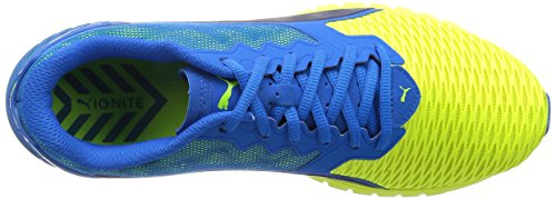 Puma Adulte Bleu yellow Dual blue Ignite 02 Running Mixte qwqHvf