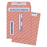 Gray/red Paper Gummed Flap Confidential Interoffice Envelope, 10 X 13, 100/box By: Quality Park