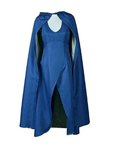 70's Show Costumes (JerryCostume Womens Top Design Cosplay Show Costume Dress Cloak)