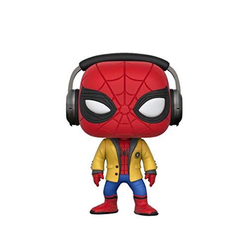WangQ Modelo - Auriculares Spider-Man (Spider-Man Homecoming) Funko Pop! Figura de Vinilo /// (Color A)