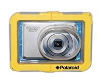 Polaroid Dive-Rated Waterproof Camera Housing For The Fujifilm Finepix JX500, JX550, JX580, JX300, JX305, JX370, T300, T305, T200, T205, Z90, Z91, JV200, JV205, AV200, AV205, AV250, AV255, AX350, AX355, JV150, JZ100, JZ250, JZ200, JZ300, JZ305, JZ500, JZ5