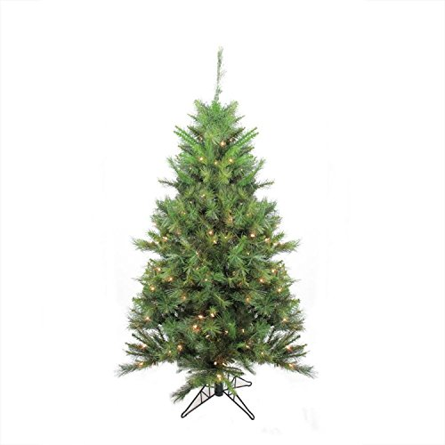 Northlight 5' Pre-Lit Canyon Pine Artificial Christmas Tree-Clear Lights, 5', ()