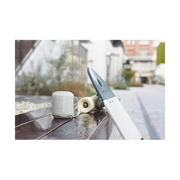 Sony SRS-XB10W Enceinte portable compacte sans fil Bluetooth NFC - Blanc 2