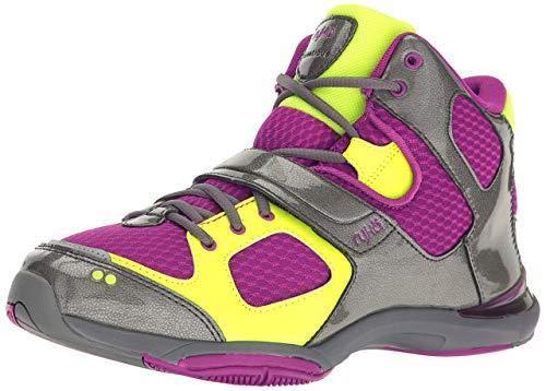 Ryka Women's Tenacious Cross-Trainer Shoe, Wine/Grey, 8 M US
