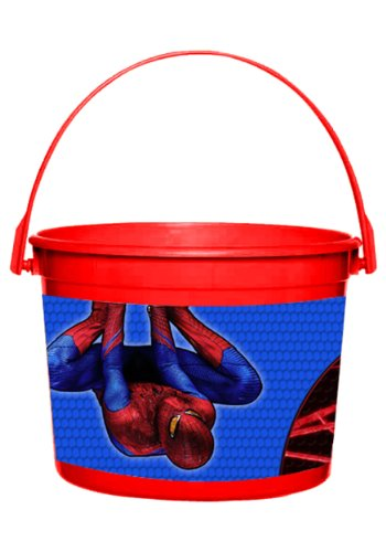 Spider-Man Favor Container 64 oz. - Each