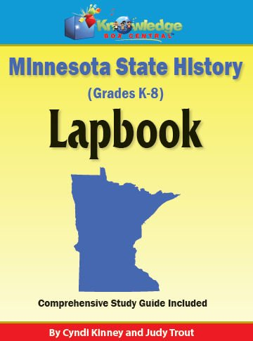 Download Minnesota State History Lapbook - ASSEMBLED ebook