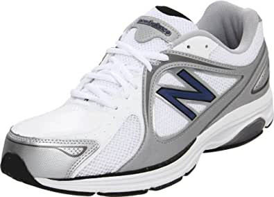New Balance Men's MW847 Health Walking Shoe,White,7 4E US
