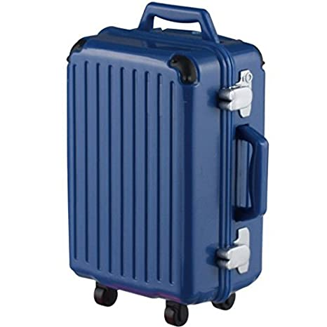 6b51882071 Amazon | 誰得?!俺得!!シリーズ 折りたたみキャリアーとスーツケース2(再販) [1.スーツケースL(ネイビー)](単品) | カプセル玩具  | おもちゃ