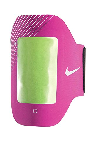 Nike Women's E1 Prime Performance Arm Band (iPhone 4, 4S, iPod Touch, Pink Force/Silver)
