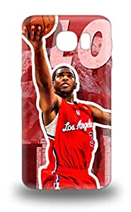 Premium Case With Scratch Resistant NBA Los Angeles Clippers Case Cover For Galaxy S6