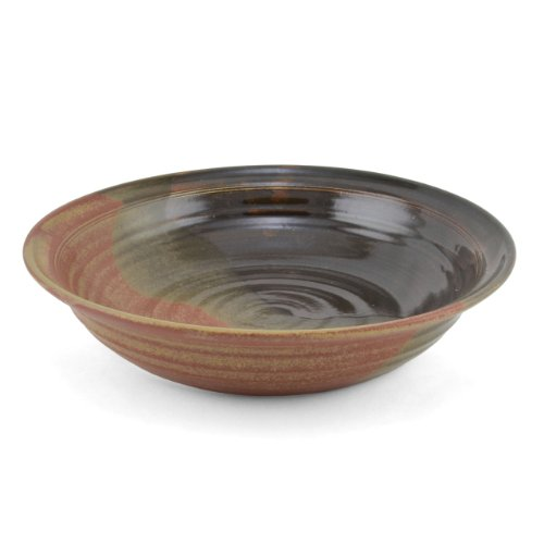 (Holman Pottery 1-Quart Vegetable Bowl, Red Earth)