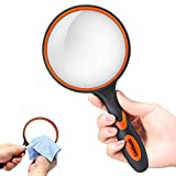 Magnifying Glass 5X Handheld Reading Magnifier