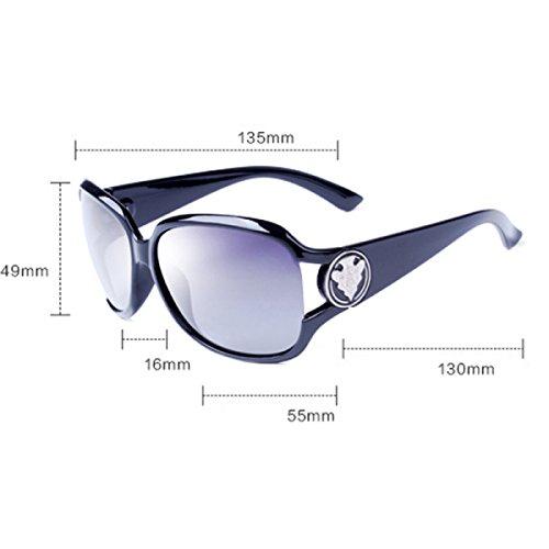 e7fbd4d4d2 70% OFF Gafas De Sol Polarizadas Para Mujer Señoras Espejo Retro Clásico Lente  Gafas Wayfarer