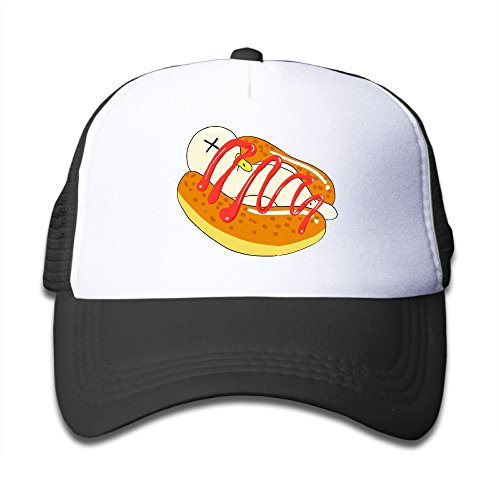 Cool Ham Sausage Hot Dog Kids Trucker Cap Hat Boys Girls Adjustable One Size (Halloween Accessories Winnipeg)