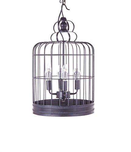 Black Bird Cage Pendant Light in US - 9