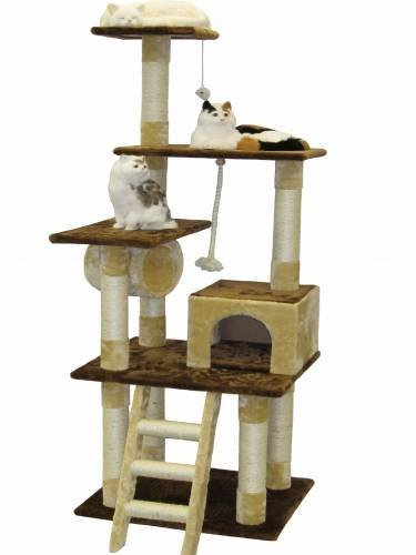 Cat tree house easy to assemble with step by step for Cat tree steps