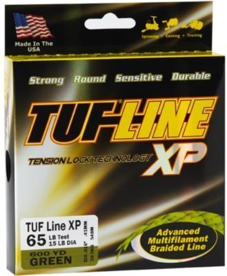 TUFline XP 65lb x 150yd Green (Line Xp Lock Tuf Tension)