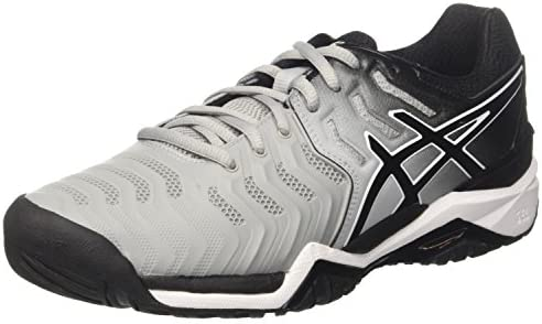 torneo Preferencia Pasivo  Asics Gel-Resolution 7 Mens Tennis Shoes E701Y Sneakers Shoes (uk 5.5 us  6.5 eu 39.5, mid grey black white 9690): Buy Online at Best Price in UAE -  Amazon.ae