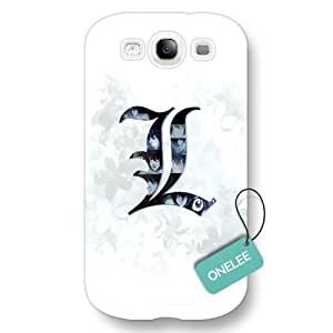Onelee(TM) Japanese Anime Death Note Frosted Samsung Galaxy S3 Case & Cover - White Frosted
